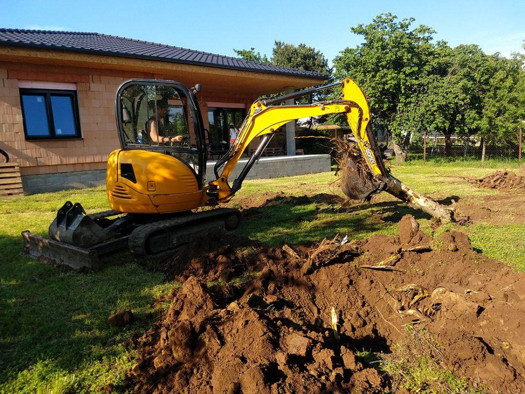 Odstraňovanie koreňa stromu